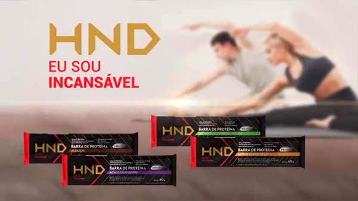 Produto Hinode: Barras de Proteina HND