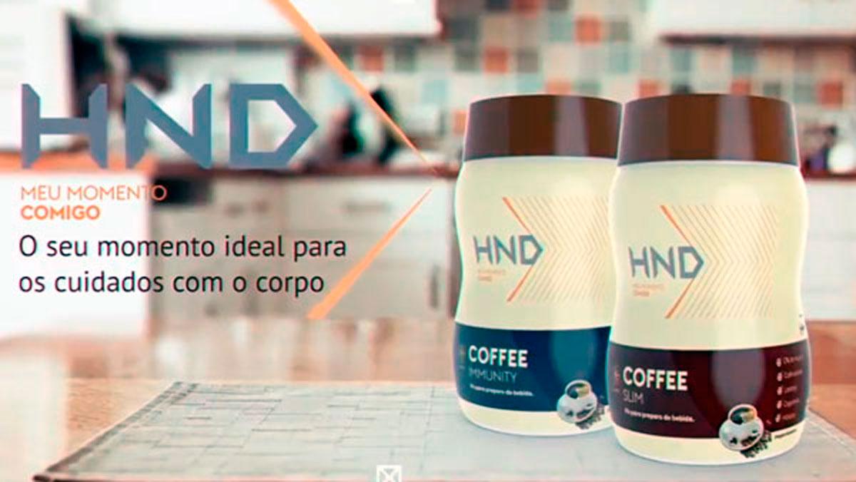 Produto Hinode: Cafes Slim e Immune HND