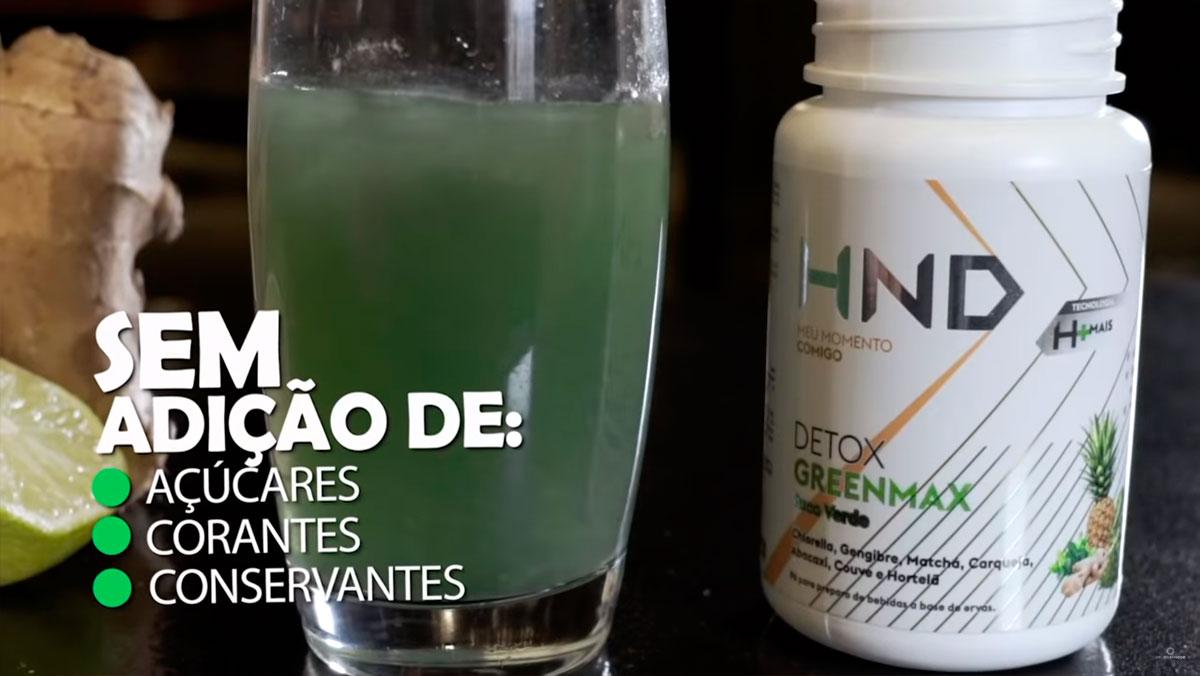 Produto Hinode: Detox Greenmax HND