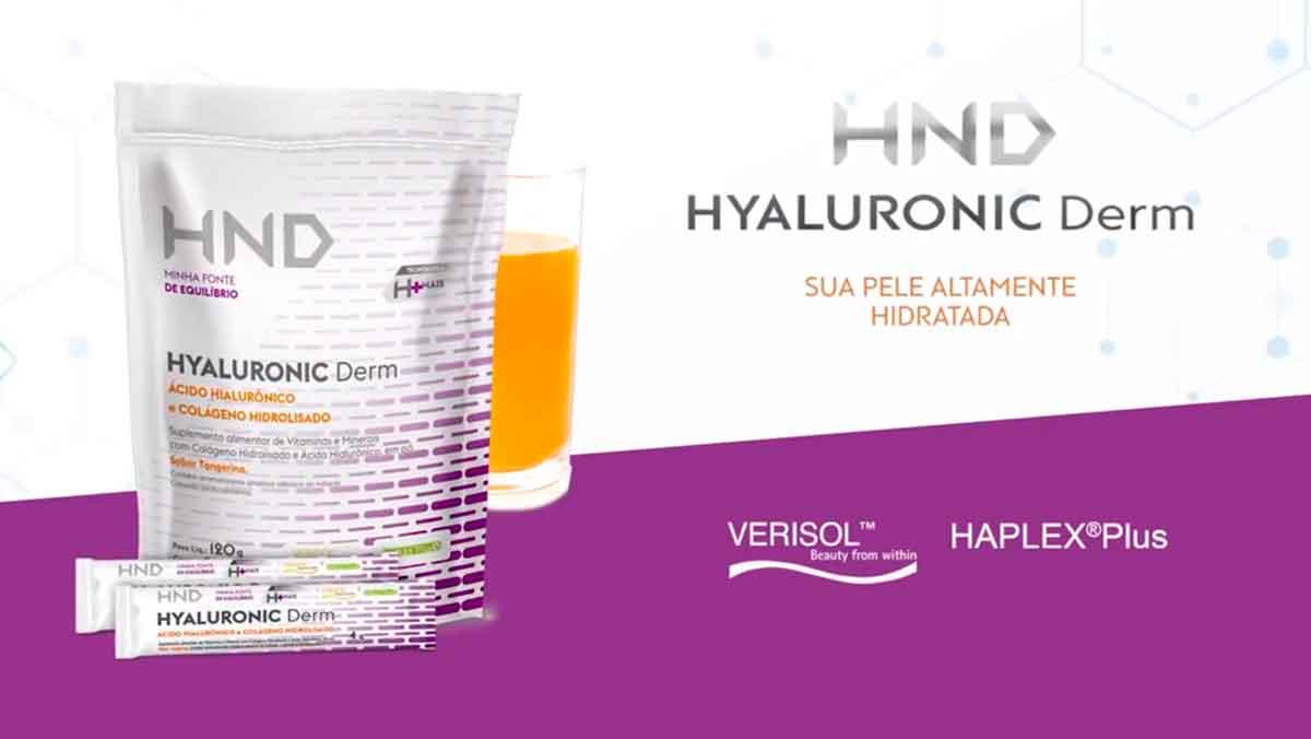 Produto Hinode: HND acido Hialuronico com colageno