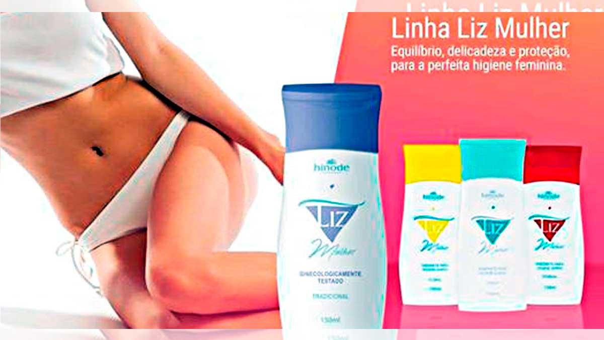 Produto Hinode: Liz Mulher Sabonete Para Higiene Íntima