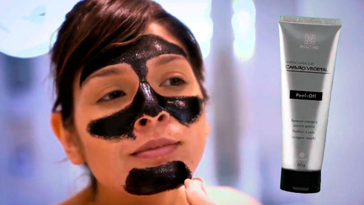 produto Hinode: Máscara Peel-off Carvão Ativado