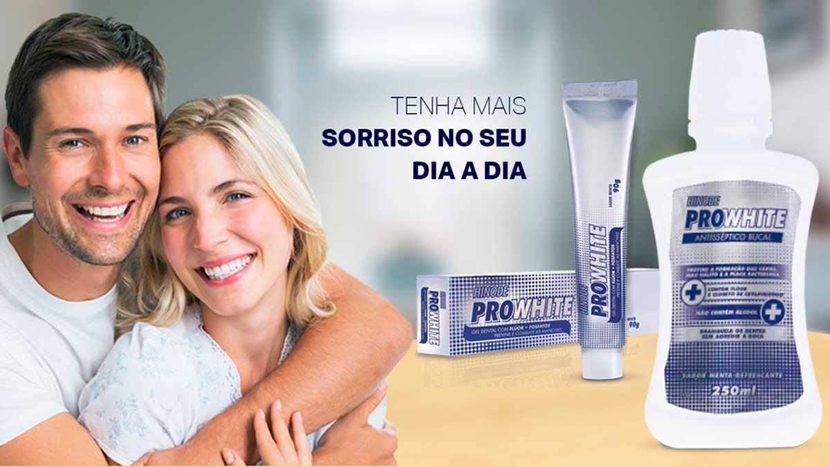 Produto Hinode: Pro White Antisseptico Bucal