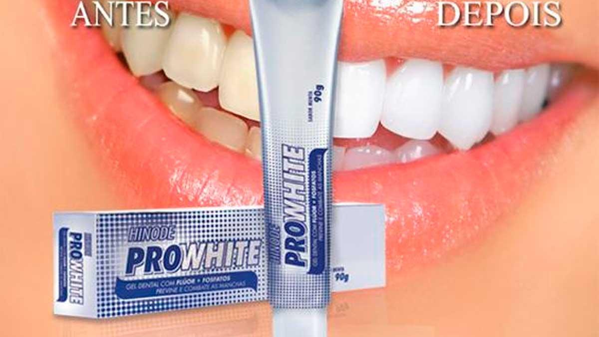 Produto Hinode: Pro White Gel Dental