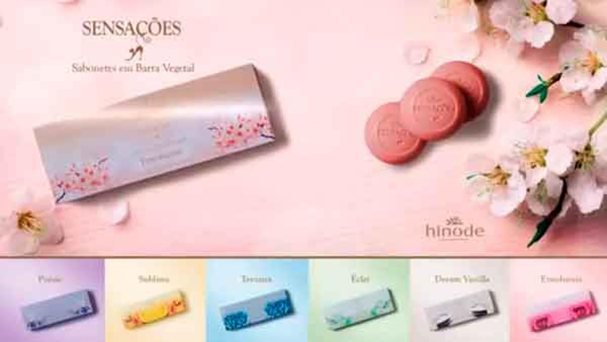 Produto Hinode: Sabonete Hinode Sensacoes