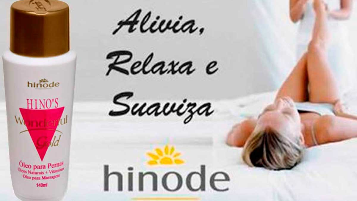 Produto Hinode: Wonderful oleo Para As Pernas Doutorzinho