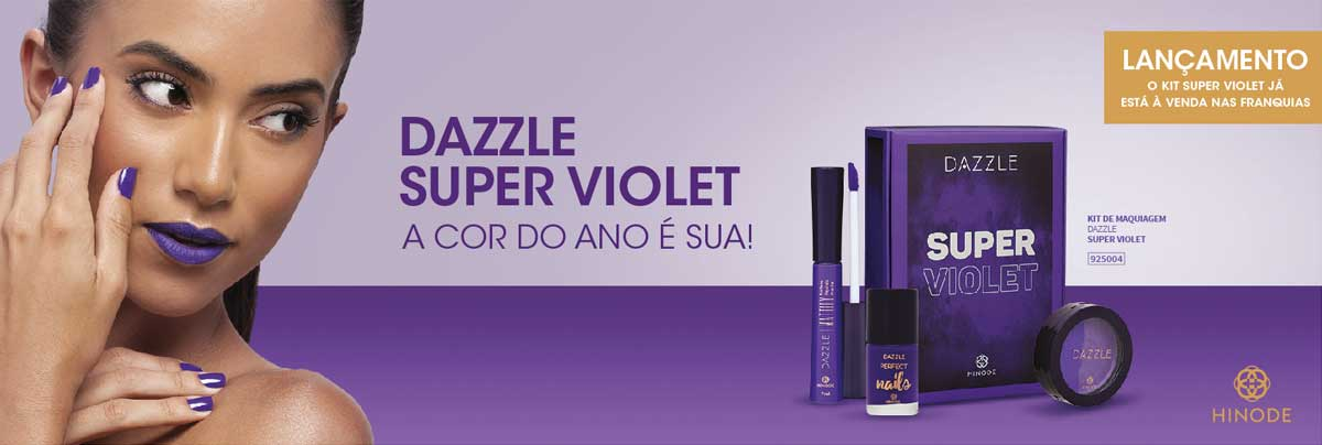 produto Hinode: Dazzle Kit Super Violet