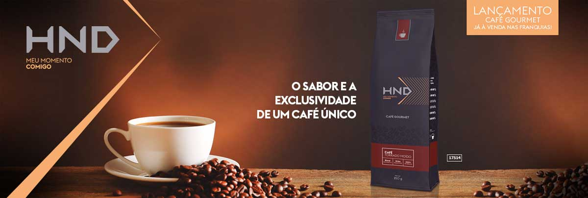 produto Hinode:HND Café Gourmet