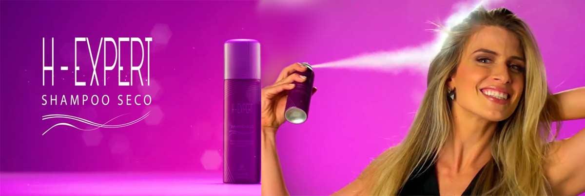 produto Hinode: Shampoo a Seco H-Expert
