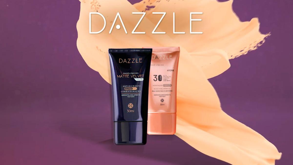 Produto Hinode: Dazzle Base Líquida Hyaluronic Hydra e Matte Velvet