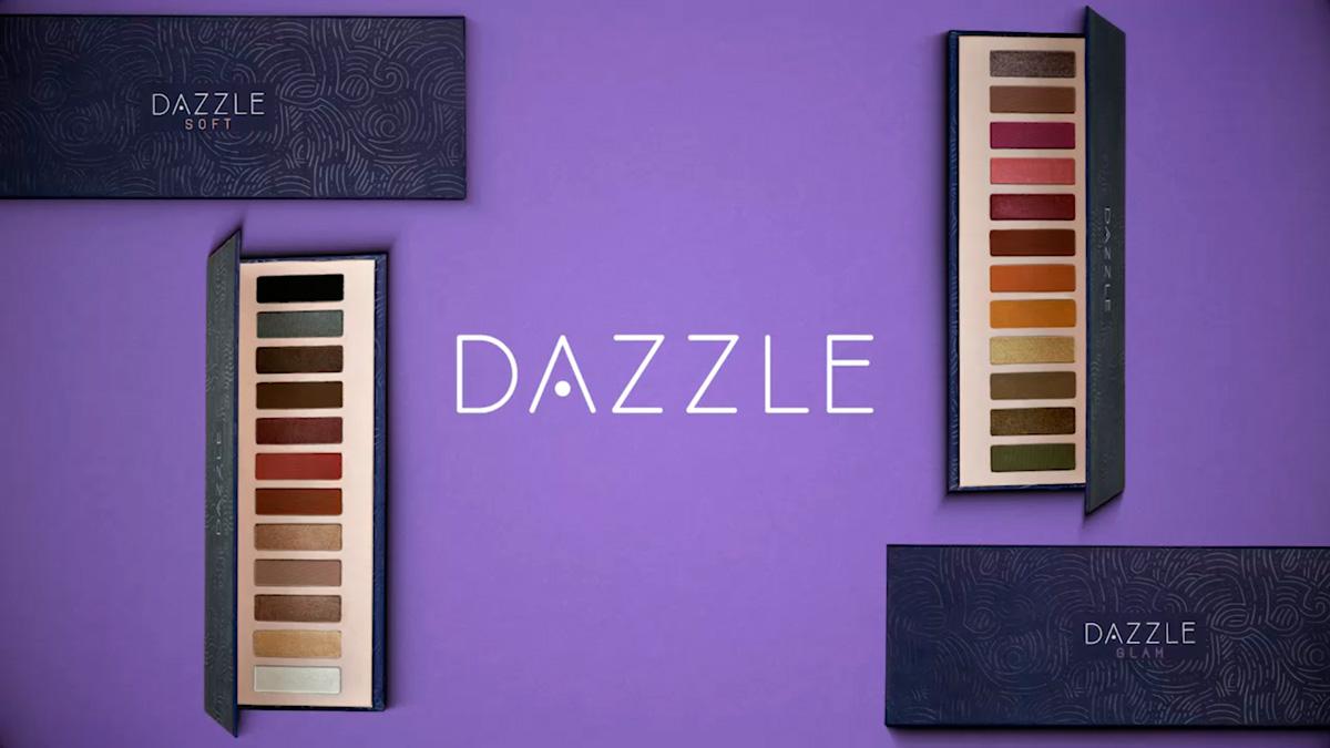 Produto Hinode: Paletas de Sombras Dazzle Soft e Glam