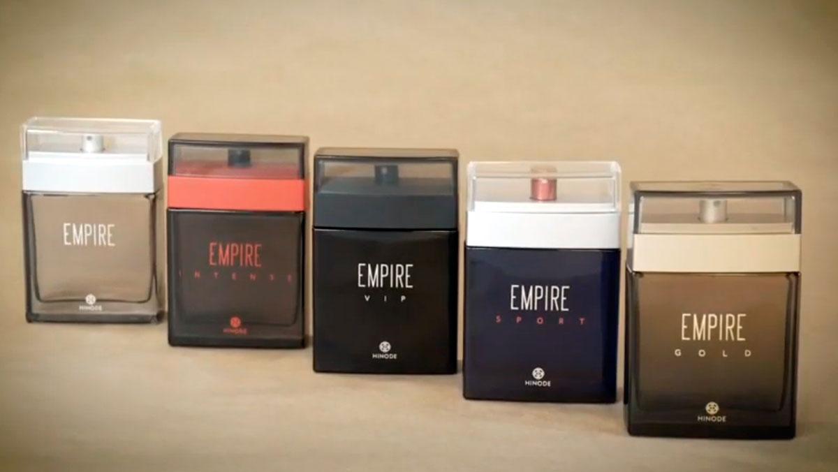 produto Hinode: Linha Empire nova embalagem