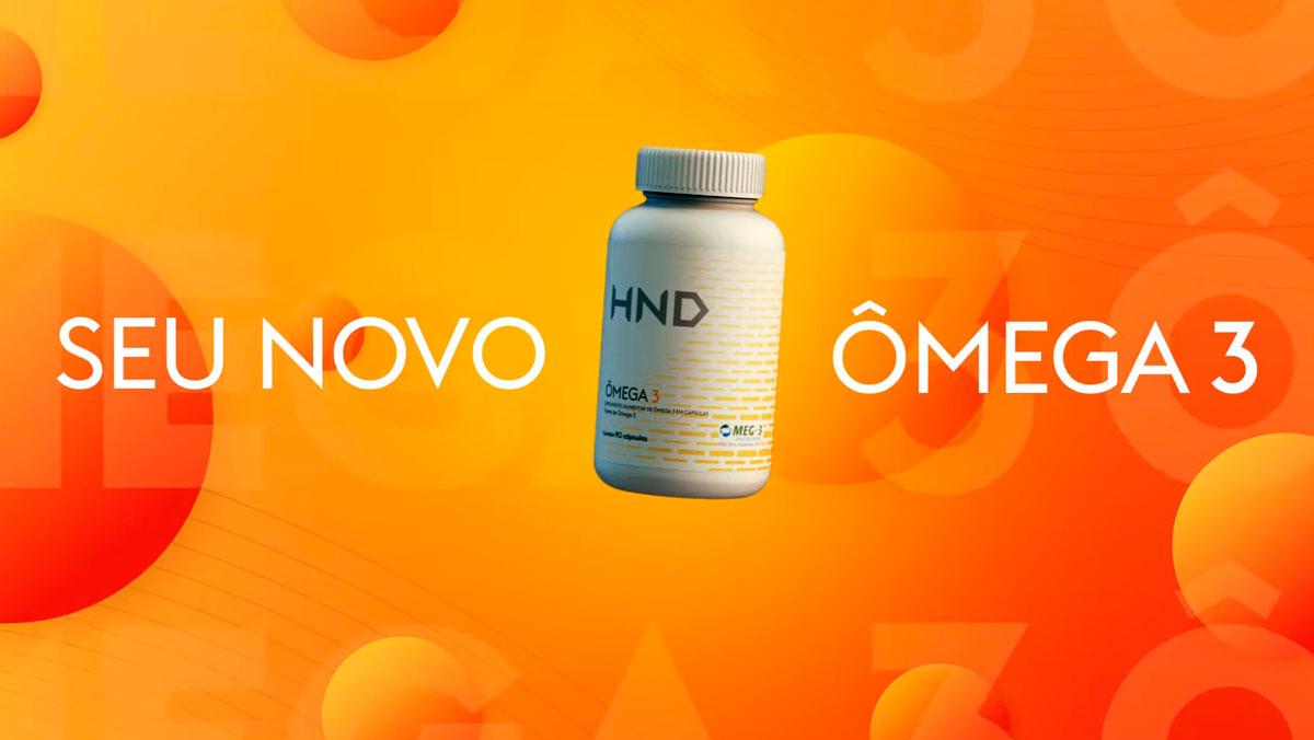 produto Hinode:Ômega 3 HND