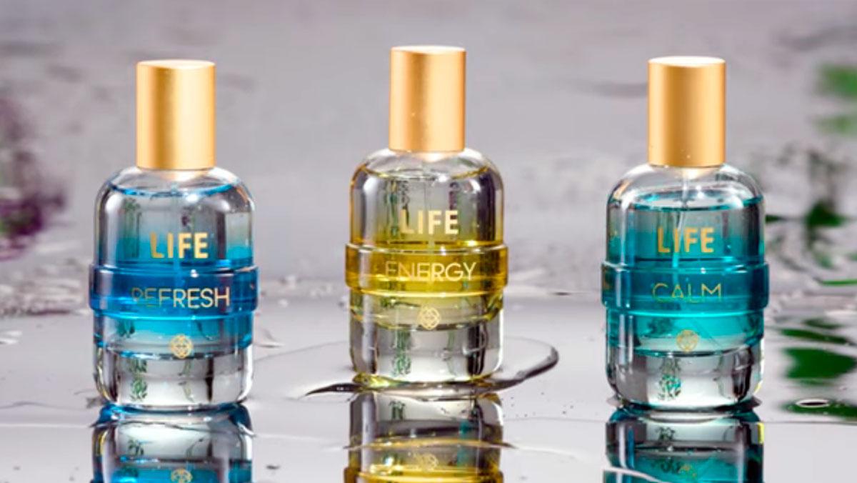 produto Hinode: Fragrâncias Life Hinode