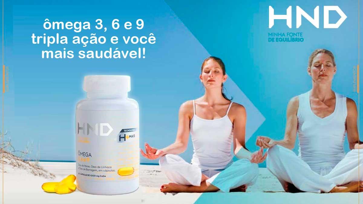 Produto Hinode: omega 3 6 e 9 HND